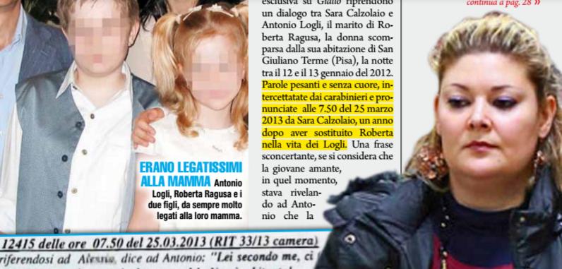 Caso Ragusa le intercettazioni, Sara alla figlia di Roberta: non sapeva amare tuo padre