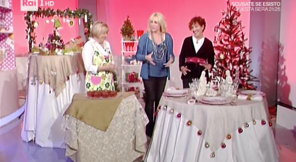 La prova del cuoco, come apparecchiare la tavola di Natale con i consigli di Lucia (Foto)
