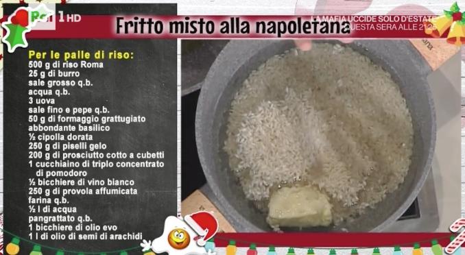 Fritti napoletani di Natale la ricetta di Anna Serpe da La prova del cuoco