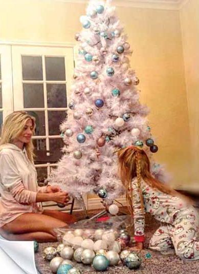 Gli alberi di Natale vip da Elisabetta Canalis a Giorgia Palmas (Foto)
