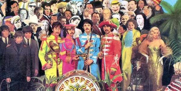 Le star morte nel 2016 sulla copertina di Sgt. Pepper's dei Beatles