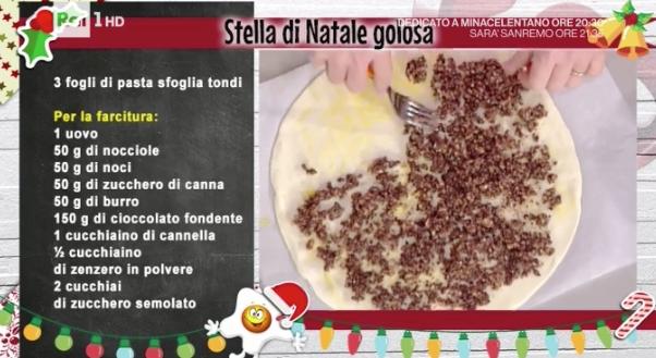 Ricetta Stella Di Natale.La Ricetta Della Stella Di Natale Golosa Di Natalia Cattellani