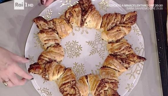 Torta Salata Stella Di Natale.La Ricetta Della Stella Di Natale Golosa Di Natalia Cattellani