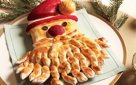 Ricette di Natale, Babbo Natale di pane