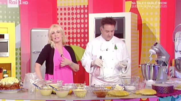 Antonella Clerici sbaglia vestito a La prova del cuoco (Foto)