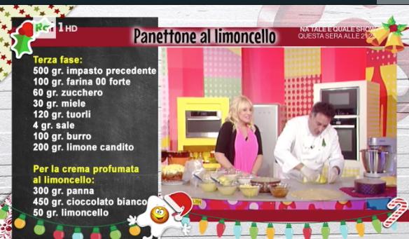 Panettone al limoncello, la ricetta di Sal De Riso La prova del cuoco (Foto)