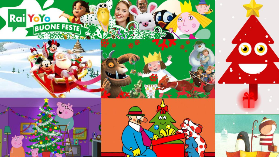 La tv di Natale è su Rai YoYo: Natale con YoYo tra cartoni, giochi e divertimento