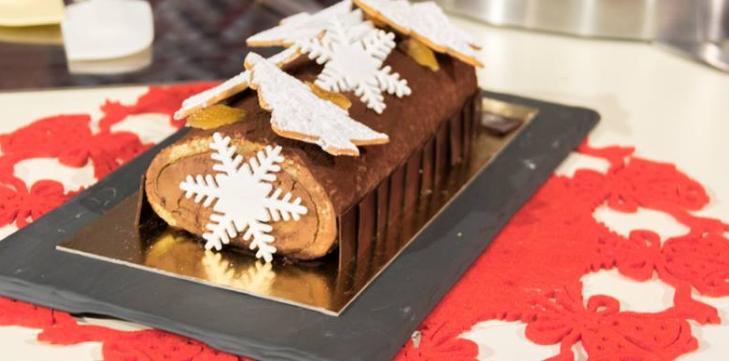 Tronchetto Di Natale Detto Fatto 2019.Da Detto Fatto La Ricetta Del Tronchetto Di Natale Di Michel Paquier