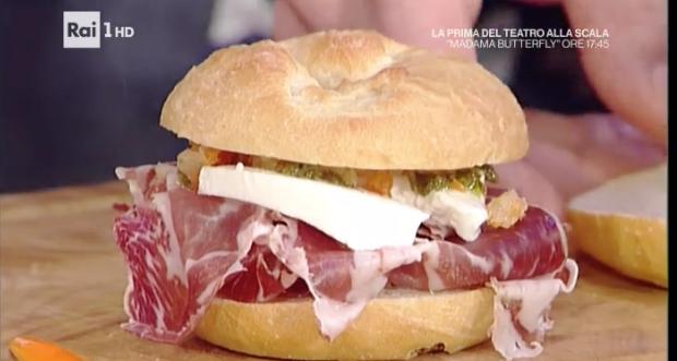 Le ricette dei panini con la coppa di Daniele Reponi