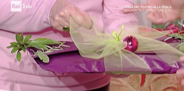 La prova del cuoco, i pacchetti di Natale della signora Lucia (Foto)