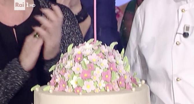 Per il compleanno di Antonella Clerici la torta di Sal De Riso (Foto)