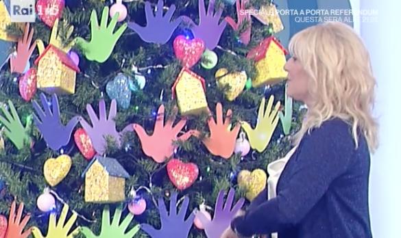 La prova del cuoco, l'albero di Natale più originale in tv (Foto)