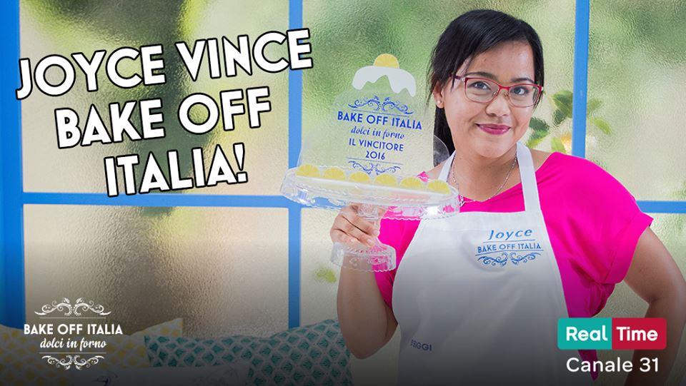 Bake Off Italia 2016: la vincitrice annunciata è Joyce