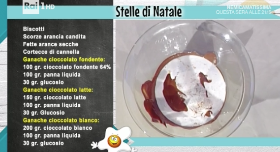 Stelle di Natale, ricetta dolce al cioccolato di Guido Castagna