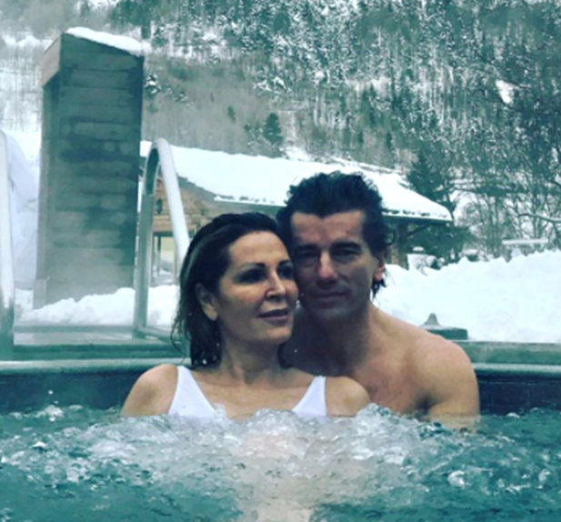 Daniela Santanché e Dimitri d'Asburgo Lorena sono romantici in montagna (Foto)
