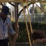 Mario Balotelli posta il video con la figlia Pia al parco (Foto)
