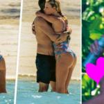 Vacanze hot per Alessia Marcuzzi che mezza nuda in spiaggia regala il primo topless del 2017 (FOTO)