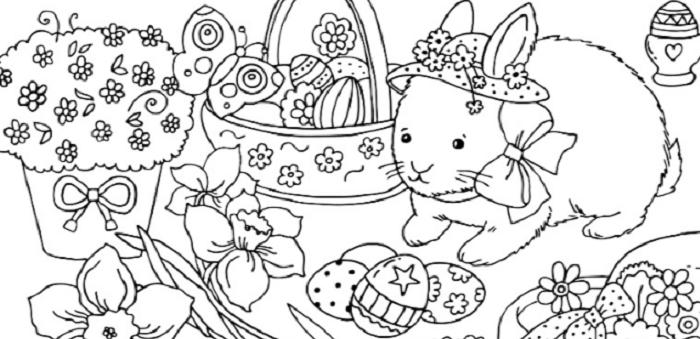 Pasqua 2017 I Disegni Da Stampare E Colorare Per I Bambini