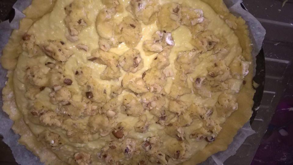 Le nostre ricette: prepariamo la crostata di ricotta con mandorle e nocciole