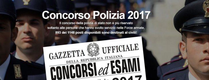 Calendario Concorso Polizia.Concorso Polizia 2017 Preparazione Prova Scritta E