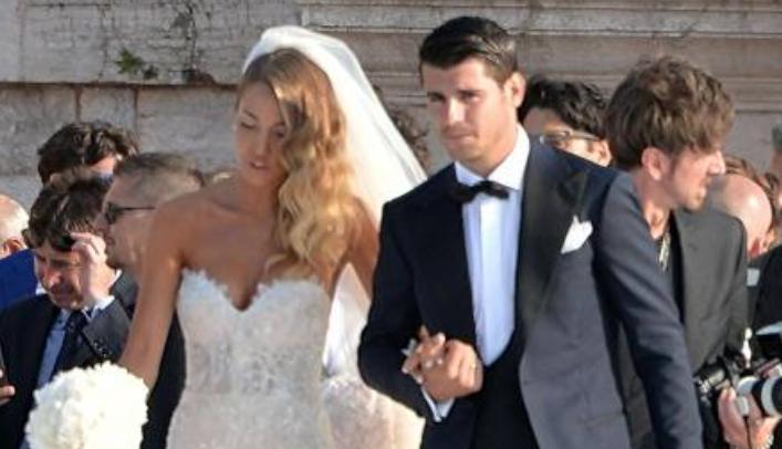 Alvaro Morata e Alice Campello, è stato il matrimonio più bello e
