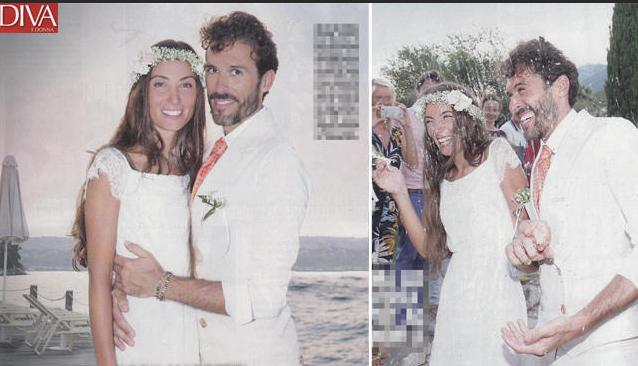 Il matrimonio di Aron Barzetti, l'attore di Centovetrine ha sposato la sua Cloè