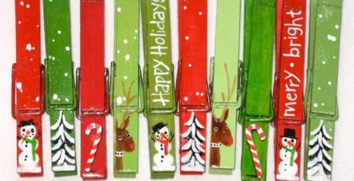 Lavoretti Di Natale Con Le Mollette.Come Utilizzare Le Mollette Per Fare Dei Bellissimi