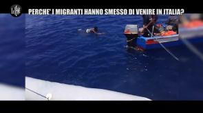 servizio le iene sui migranti
