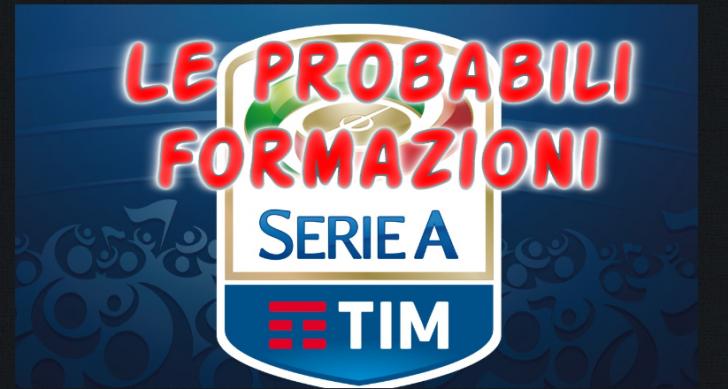 Probabili Formazioni Serie A 19esima Giornata 29 30 Dicembre 2017 Le Ultime News Ultime Notizie Flash