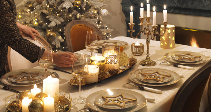 Decorazioni Natalizie Dorate.Idee Decorazioni Natale 2017 Gold Un Natale Luccicante E