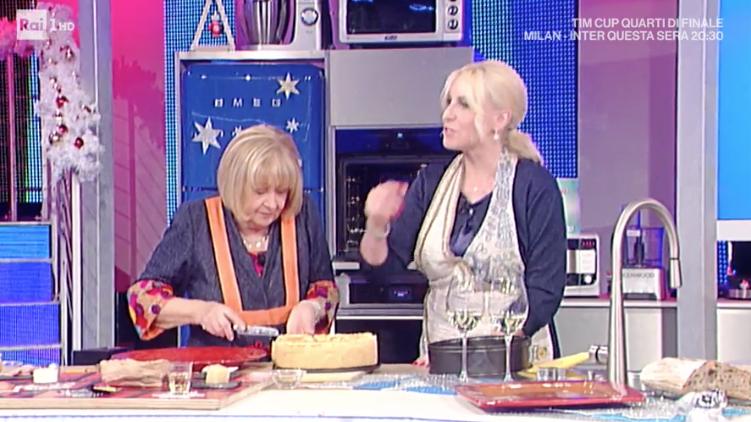La prova del cuoco le ricette del 28 dicembre 2017, al pubblico manca Antonella Clerici