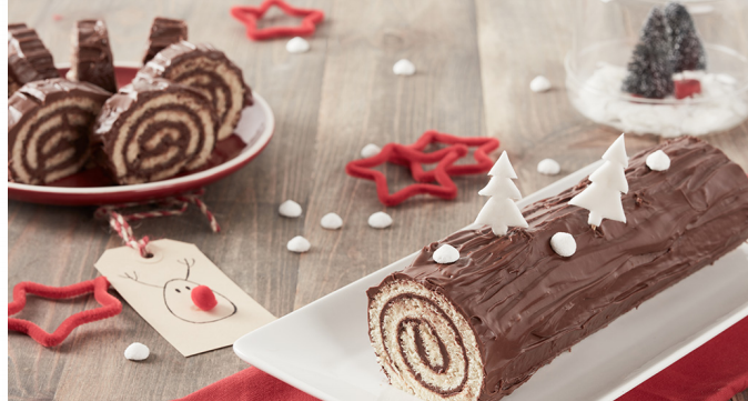 Tronchetto Di Natale Menu Di Benedetta.Ricette Facili E Veloci Per Natale Il Tronchetto Alla Nutella