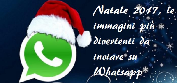 Immagini Divertenti Di Natale Per Whatsapp.Natale 2017 Le Immagini Divertenti Da Inviare Su Whatsapp