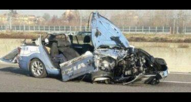incidente sull'A1, muore agente di polizia
