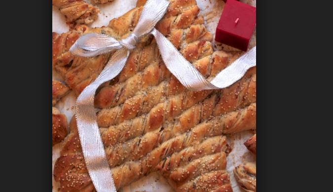 Torta Salata Stella Di Natale.Stella Di Natale Farcita La Ricetta Di Natalia Cattellani Per Le