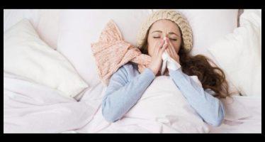 virus influenza 2018, picco a capodanno