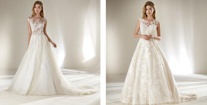 Vestiti Da Sposa Pronovias.Pronovias Petite La Meravigliosa Collezione Di Abiti Da Sposa