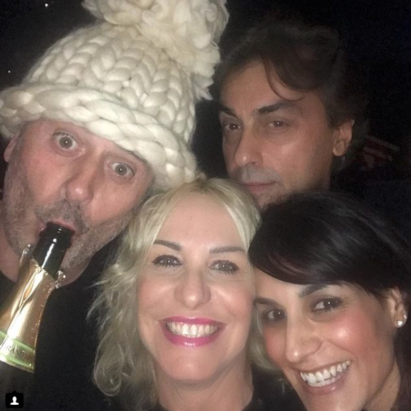 Antonella Clerici con Vittorio Garrone il Capodanno più bello della sua vita (Foto)