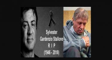fake news sylvester stallone morto foto