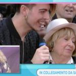 Anna Moroni in diretta da Sanremo con i The Kolors fa la dichiarazione d'amore al suo Tonino (Foto)