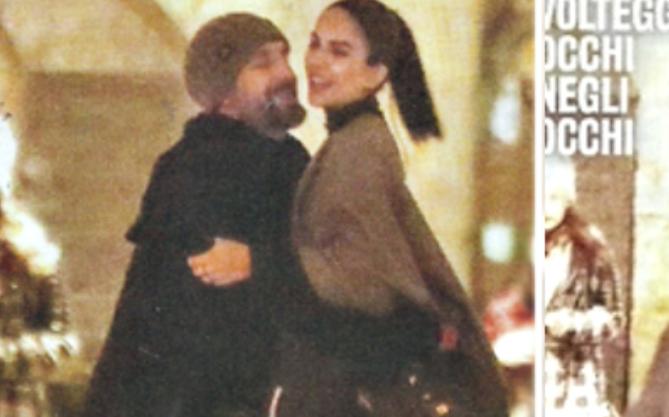 Raoul Bova e Rocio sorpresi a Firenze in una serata romantica (Foto)