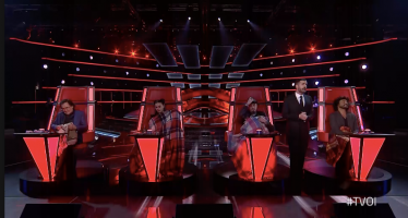 the voice ascolti prima puntata