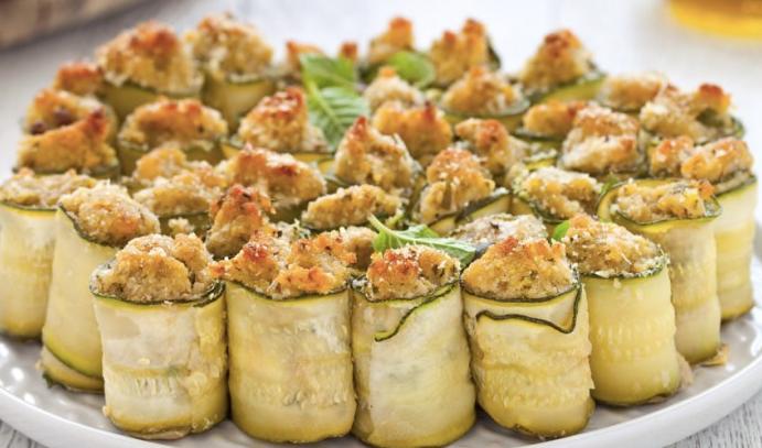 La ricetta zucchine ripiene di tonno involtini per for Ricette secondi