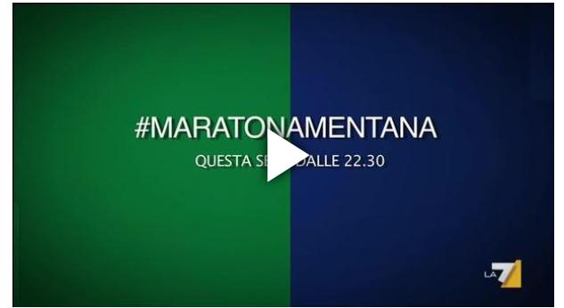 maratona mentana la7