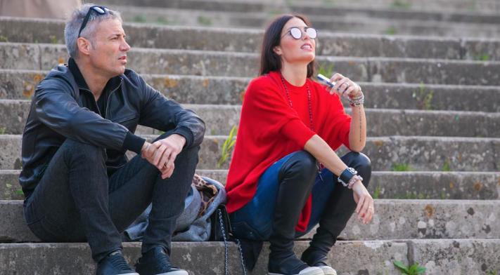 Elisabetta Gregoraci, prima passeggiata con il fidanzato Francesco Bettuzzi (Foto)
