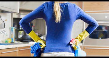 come pulire i top della cucina