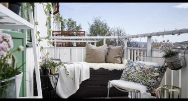 come arredare il balcone per l'estate