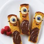 Ricette per le feste dei bambini: facciamo bastoncini di french toast Minions