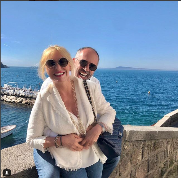 Antonella Clerici e Vittorio Garrone a Sorrento più innamorati che mai pronti per il grande passo (Foto)