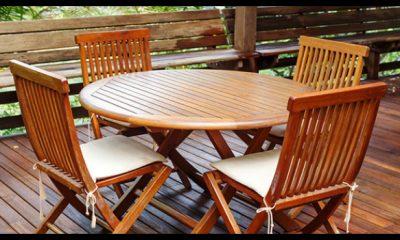 come pulire le sedie in legno